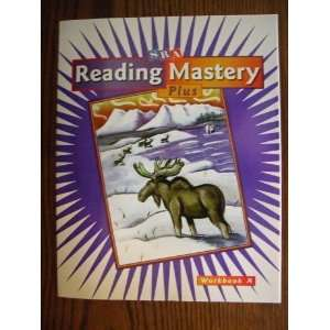 SRA Reading Mastery Plus Book A Level 3 Set of 4 Textbook Workbook Answer Key