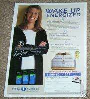 2007 LINDSAY WAGNER Sleep Number Bed mattress 1 PG AD