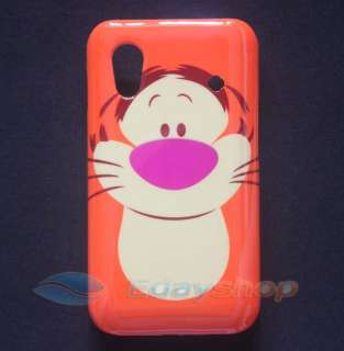 Cartoon Tiger Skin Case Cover Samsung Galaxy Ace S5830