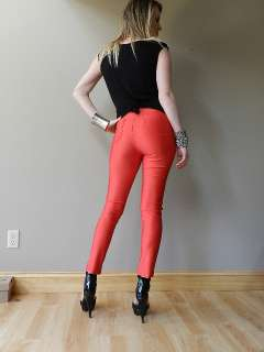 VTG inspired LOT OF spandex DISCO shiny PANTS trousers HIGH WAISTED
