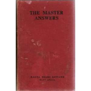 The Master Speaks: Maharaj Charan Singh: Books