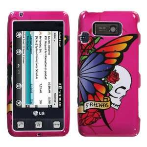 Best Friend Hot Pink Phone Protector Faceplate Cover For