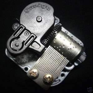 Silver 18 Note Musical Movement For Music Box,Many Song