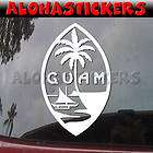 GUAM ISLAND SEAL Vinyl Decal Car Chamorro Sticker Q2