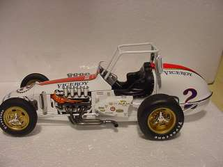 MARIO ANDRETTI VICEROY VINTAGE DIRT CHAMP CAR PARNELLI JONES GMP FORD