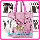 new Juicy Couture CHOOSE JUICY ROUND gold logo gift wrap STICKERS 24