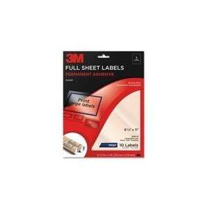 3M Full Sheet Address Label Office Products