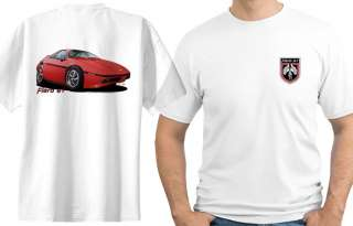 1984 Fierro GT Muscle Car Cartoon Tshirt #6640 pontiac GM NWT
