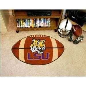 Louisiana State Fightin Tigers NCAA Football Floor Mat