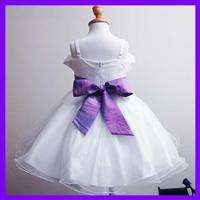 This new gorgeous flower girls dress is full of lining for size 2   3