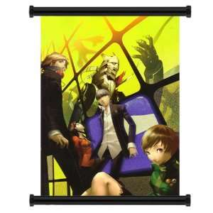 Shin Megami Tensei Persona 4 Game Fabric Wall Scroll Poster (31x44