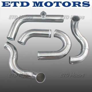 79 93 Fox Body Ford Mustang V8 5.0 Intercooler Piping Kit Single Turbo