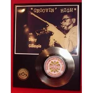 Gold Record Outlet Dizzy Gillespie 24KT Gold Record Display LTD