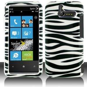HTC Arrive 7575 Black/White Zebra Hard Case Cover Phone