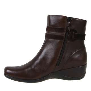 Clarks Womens Boots Embrace Love Dark Brown 82884