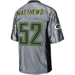 NFL   Mens Green Bay Packers #52 Clay Matthews Shadow Jersey