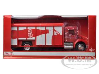 Coca Cola Delivery Truck 125th Anniversary Hauler die cast car model