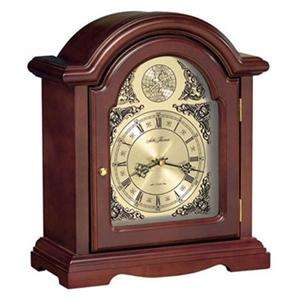 NEW*Seth Thomas*STURBRIDGE SHELF MANTEL MANTLE CLOCK*WOOD&GLASS