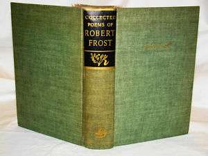 Robert Frost Signed Collected Poems 1939