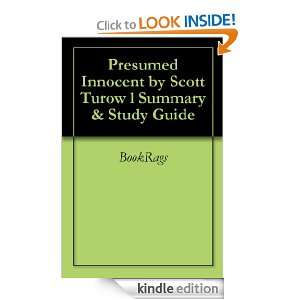 Presumed Innocent by Scott Turow l Summary & Study Guide BookRags
