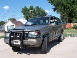 1999 2004 Jeep Grand Cherokee Black Brush Grille Guard