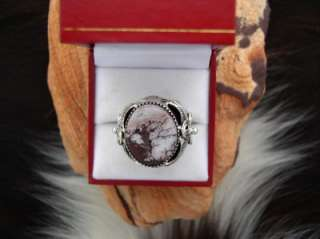 Glen Willie Native American Indian Crazy Horse Ring
