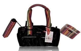 NEW FRANCO SARTO BLACK WALLET & UMBRELLA SATCHEL BAG