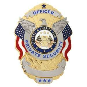 Officer Private Security Badge