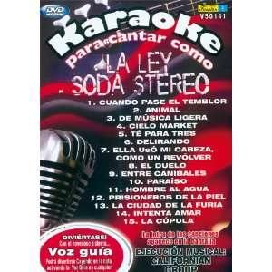DVD KARAOKE PARA CANTAR COMO LA LEY SODA STEREO Movies & TV