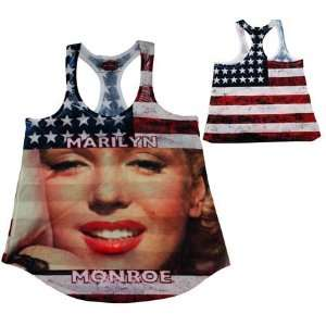 Stylish Marilyn Monroe sleeveless T shirt