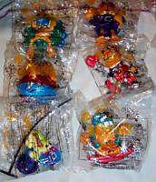 Garfield 6 Piece 1999 Dairy Queen kid Pic nic toys