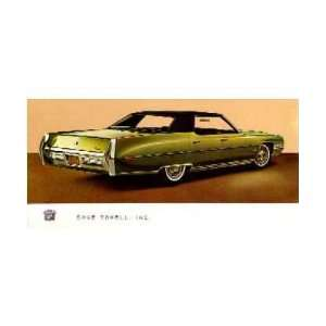 1971 CADILLAC SEDAN DEVILLE Mailer Invite Test Drive: Automotive