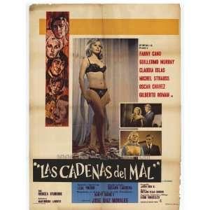 Cadenas del mal, Las Poster 27x40Armando AcostaGuillermo Arg?elles