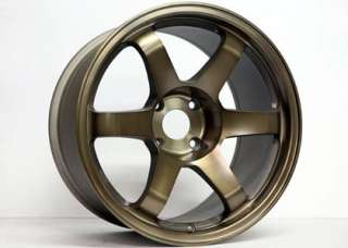 17 ROTA GRID BRONZE RIMS WHEELS NISSAN 240SX S13 S14