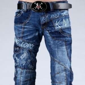 MENS FASHION STAR JEANS KOSMO LUPO BLUE DEVIL G.W30