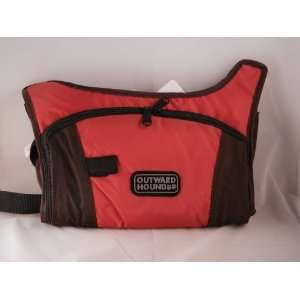 Outward Hound Hydration H2O System Dog Pack Red Large