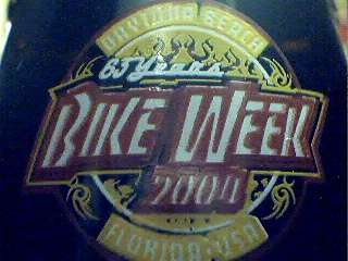 2004 BIKE WEEK Daytona Beach Motorcycle Coke Bottle