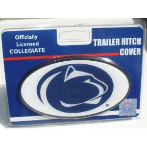 Penn State University Plastic Trailer Hitch Cover Sports