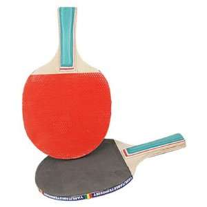 Como Pair Green Handle Double Side Penhold Table Tennis
