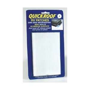 White Waterproof Roof Repair, 4 x 6 Patch: Sports