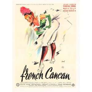 French Can Can Movie Poster (27 x 40 Inches   69cm x 102cm