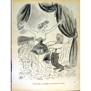 LE RIRE (THE LAUGH) FRENCH HUMOR MAGAZINE LADY CORSET
