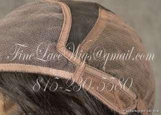Glueless Indian Remy Full Lace Light Yaki Straight Wigs