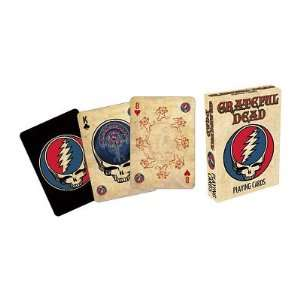 (3x4) Grateful Dead Music Playing Cards: Home & Kitchen