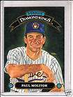1984 DONRUSS PAUL MOLITOR MILWAUKEE BREWERS JUMBO CARD