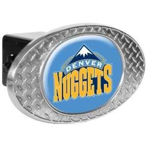 Denver Nuggets Metal Diamond Plate Trailer Hitch Cover