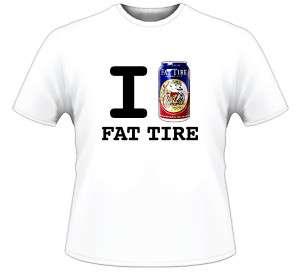 Love Fat Tire Beer T Shirt