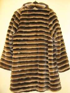women s winter faux fur coat jacket plus size m l xl $ 209