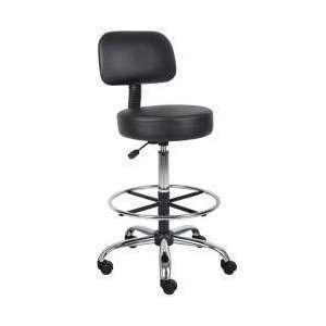 Boss Caressoft Medical   Drafting Stool Furniture & Decor