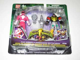 Mighty Morphin Power Rangers PINK RANGER & DRAGONZORD